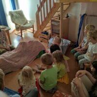 Divadélko v dětské skupině